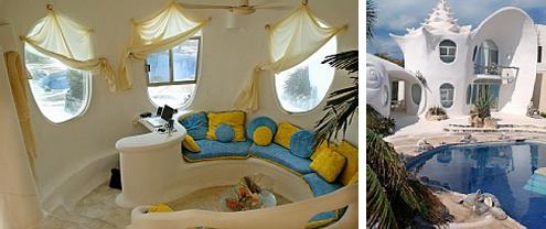 Conch Shell House Architectureshotelsinteriorsrestaurants - Conch-shell-house